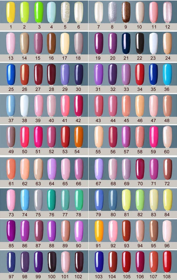 Gelpolish in 206 kleuren professionele salon kwaliteit style d 39 lx betaalbare lifestyle luxe - Kleuren salon ...