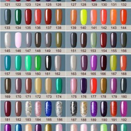 Gelpolish salon kwaliteit | 7.3 ml 206 kleuren | Style D'lx - Betaalbare lifestyle luxe