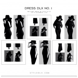 Dress D'lx Multiway dress - Style D'lx
