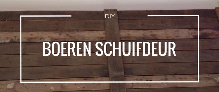 DIY Boeren schuifdeur | SD blog