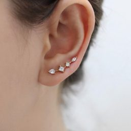 Ear climber | Style D'lx Betaalbare lifestyle luxe