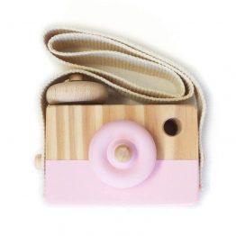 Style D'lx | Houten fototoestel camera roze