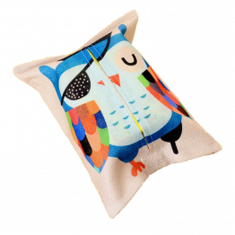 Jute tissue houder - Owl | Style D'lx betaalbare lifestyle luxe