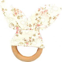 Bijtring bunny bloem | Style D'lx betaalbare lifestyle luxe