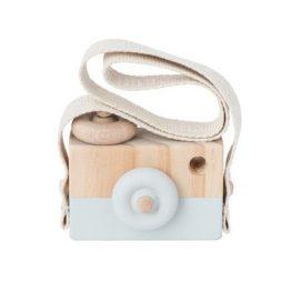 Houten fototoestel camera - Grijs | Style D'lx betaalbare lifestyle luxe