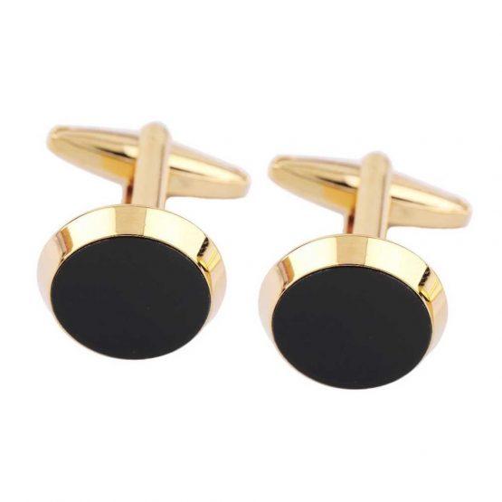Manchetknopen - Zwart goud | Style D'lx betaalbare lifestyle luxe