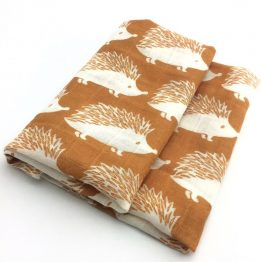 Hydrofiele doek egel - Biologisch bamboevezel | Style D'lx - Betaalbare lifestyle luxe