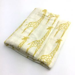 Hydrofiele doek giraffe - Biologisch bamboevezel | Style D'lx - Betaalbare lifestyle luxe